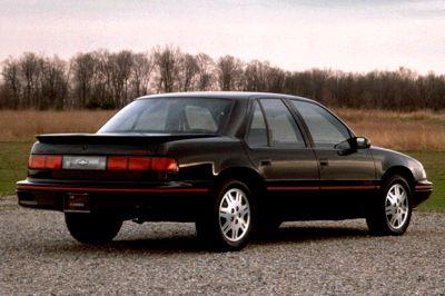 Euro on 1991 Chevy Lumina Z34 Rear